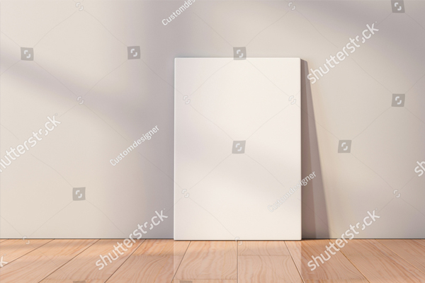 White Canvas Mockup