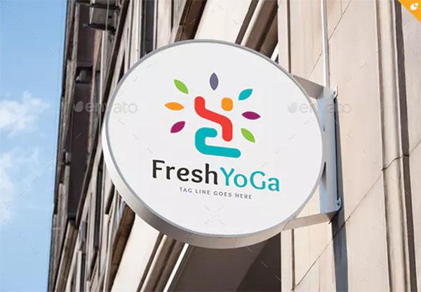 Yoga Branding Logo