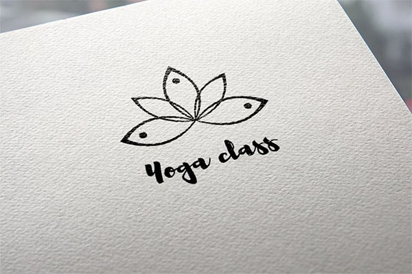 Yoga Class Logo