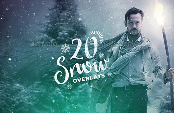 20 Snow Overlays