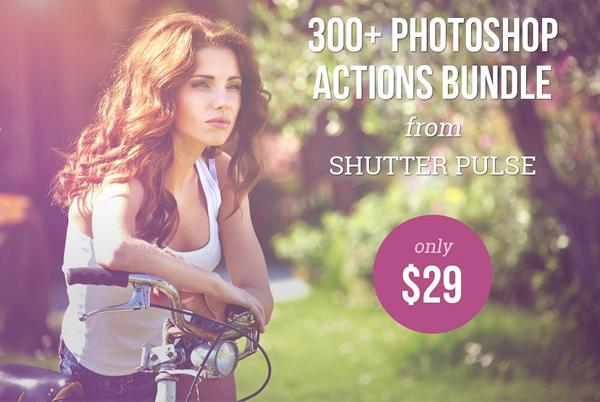 300+ Photoshop Actions Big Bundle