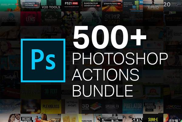 500+ Action Bundle