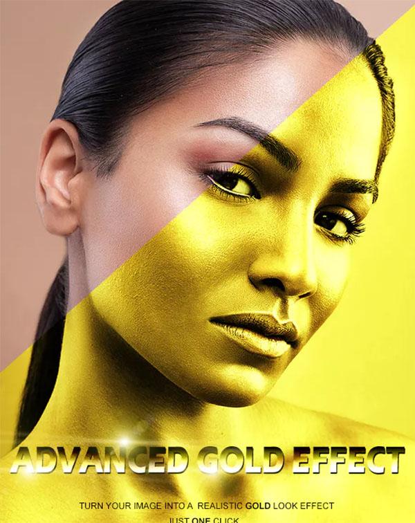 Advanced Gold Effect
