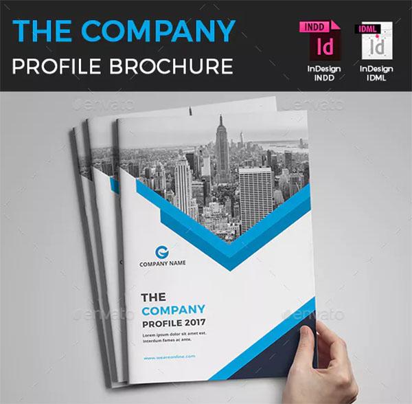 Advertising Company Profile Brochure