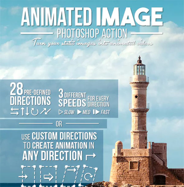 Animated Image Photoshop Action