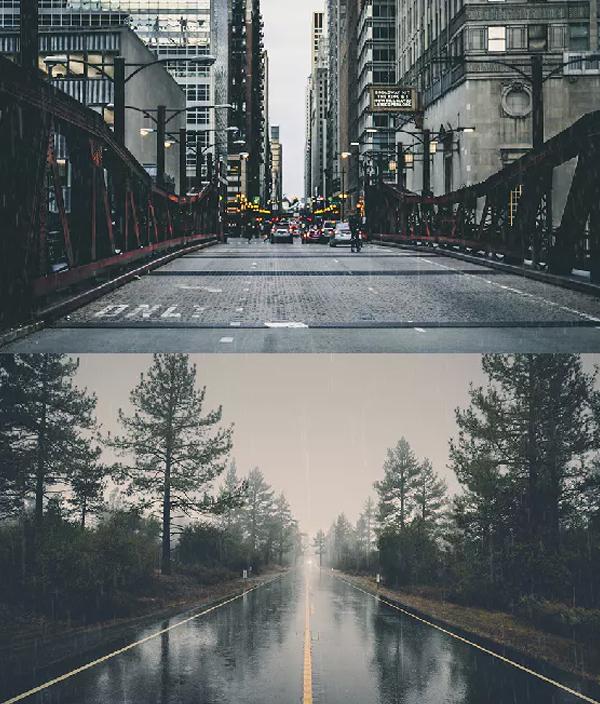 Animated Rain Overlay