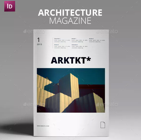Architecture Magazine Design