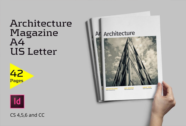 Architecture Magazine Indesign Template