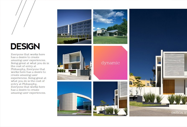 Architecture Magazine and Presentation Template