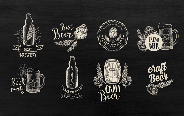 Beer logos & Labels