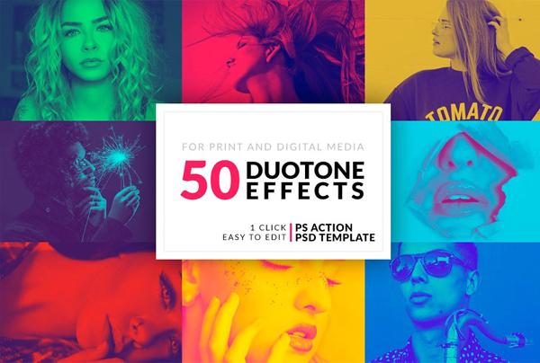 Best Duotone Photoshop Actions