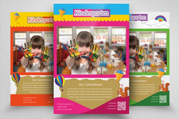 Best Kindergarten Junior School Flyer Design