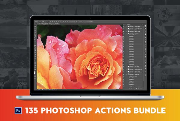 Best Pro Photoshop Actions Bundle