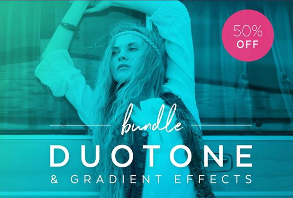 Bestselling Duotone Actions Photoshop Bundle