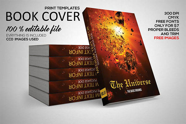 Free Book Cover Template from www.templateupdates.com