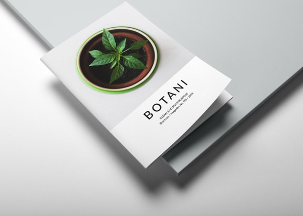 Botani Magazine Indesing Template