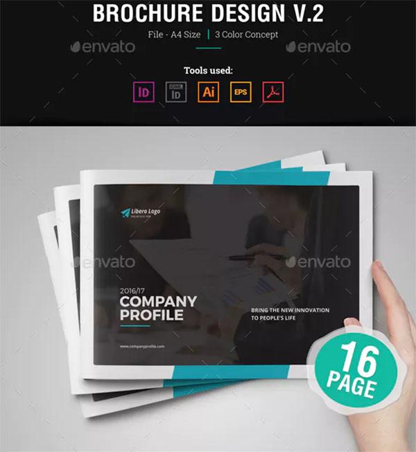 CMYK Company Profile Brochure