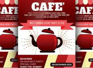 Cafe Flyer Templates