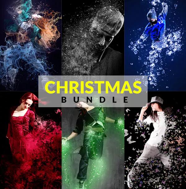 Christmas Photoshop Action Bundle