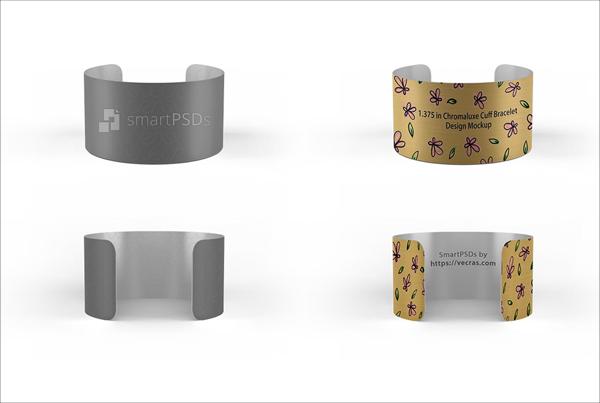 BeautifulCuff Wristband Design Mockup