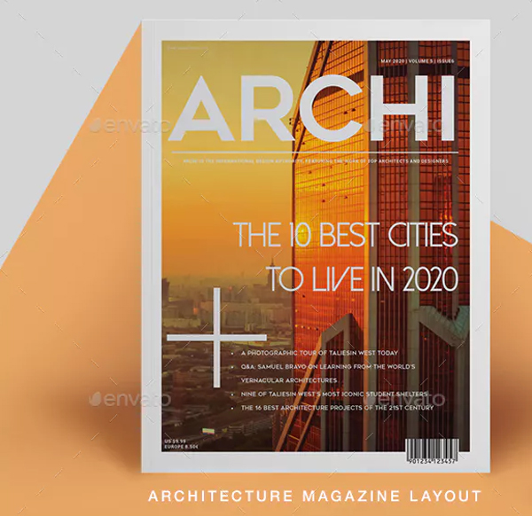 Clean Architecture Magazine Templates