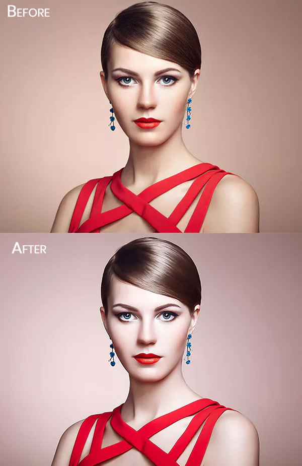 Clean Skin Retouch Photoshop Action