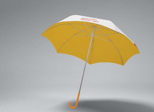 Clean and professional Umbrella Mockup