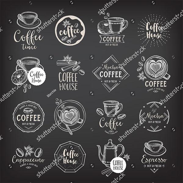 Coffee Menu Vector Template