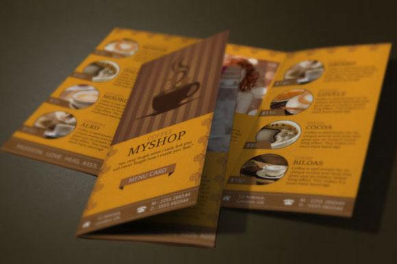 45 Coffee Shop Brochure Templates Free Psd Vector Psd Downloads