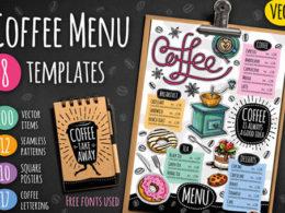 Coffee Shop Menu Templates