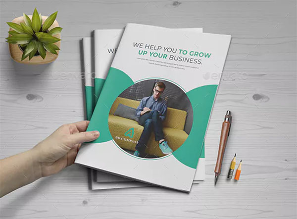 Company Agency Profile Brochure Template