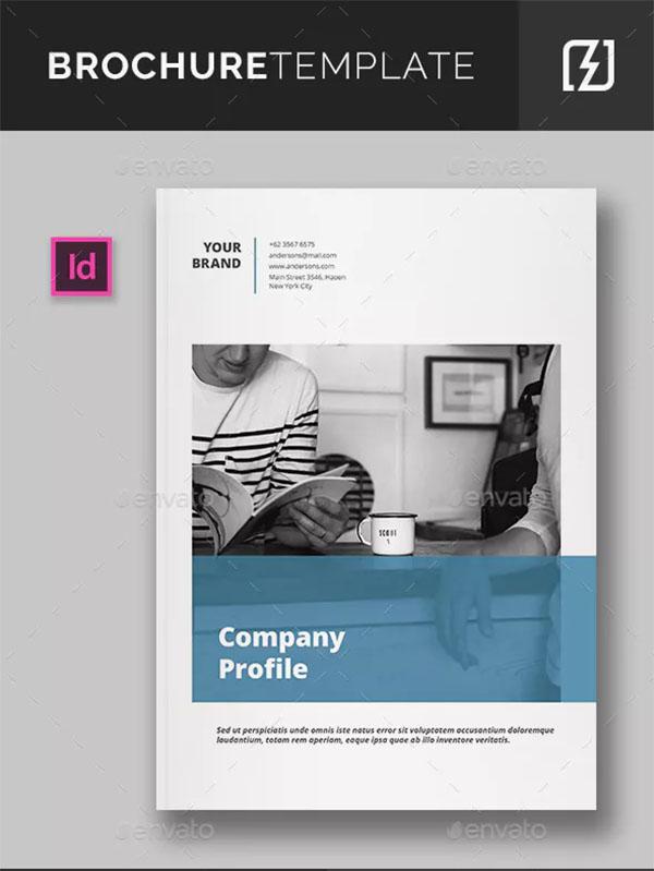 Company Business Profile Brochure Template