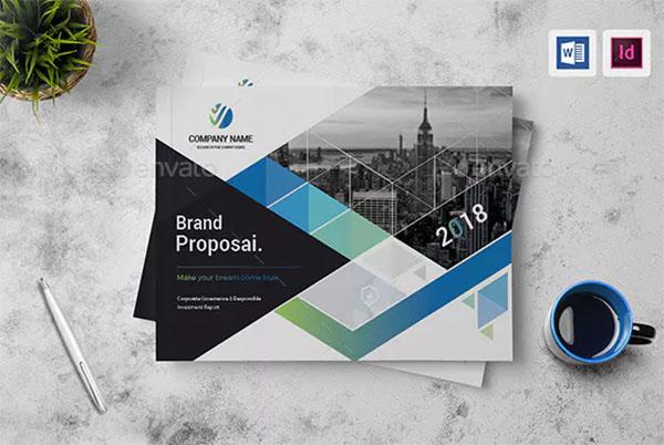 Company Identity Profile Brochure