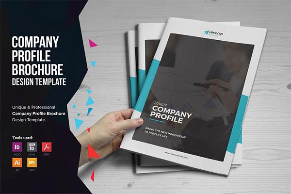 Company PSD Profile Brochure