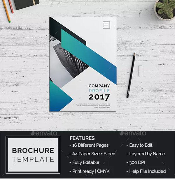 Company Profile Brochure Design Template