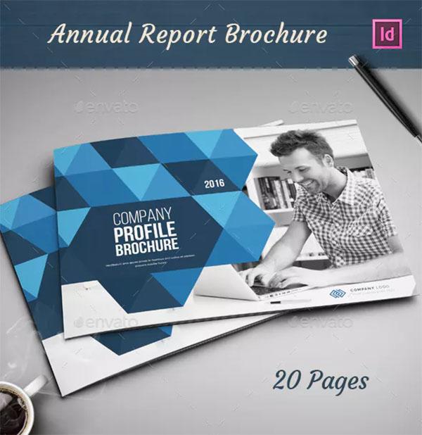 Company Profile Brochure PSD Design
