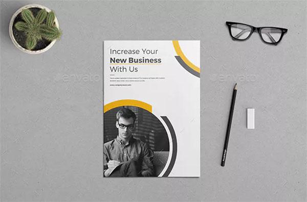 Company Profile Brochure PSD Template