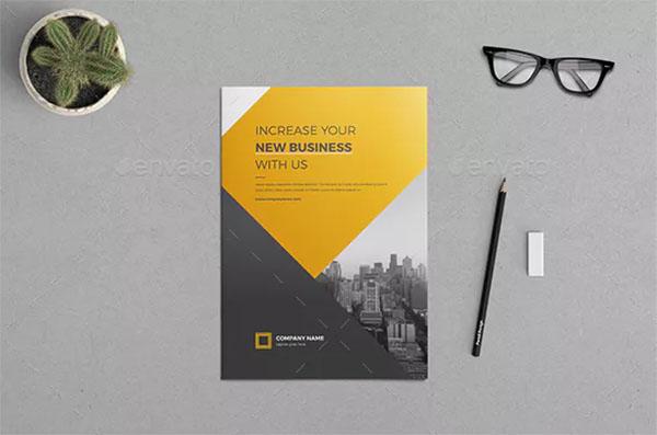 Company Profile Brochure Template Design