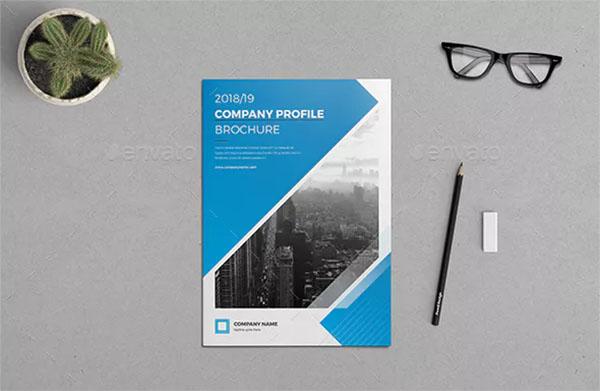 Company Profile Brochure Templates