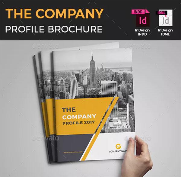 Company Profile Catalog Brochure