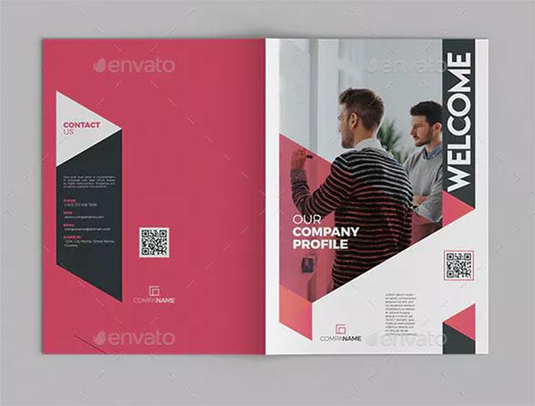 Company Profile Creative Brochure
