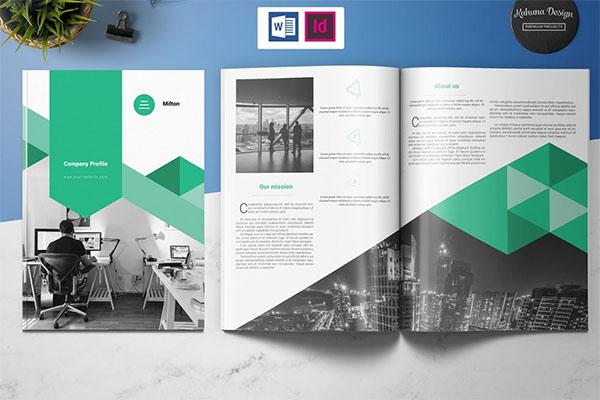 Company Profile Design Brochure