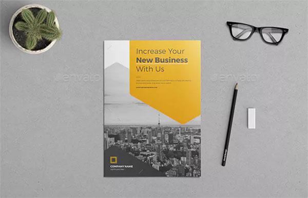Company Profile PSD Brochure Bundle