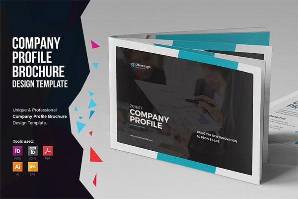 Company Profile PSD Brochure Design