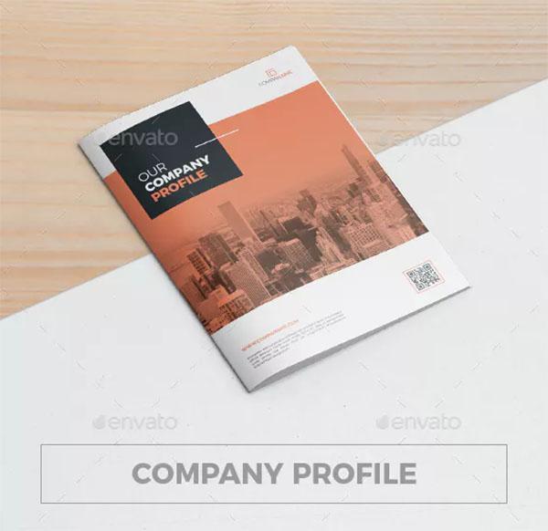 Company Profile PSD Brochure Template
