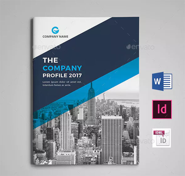 Company Profile Print Brochure