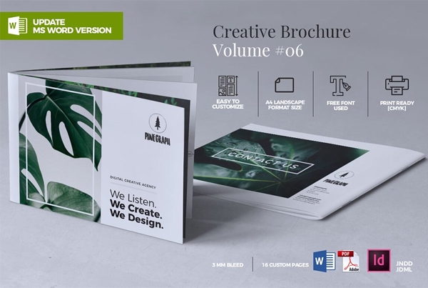 Creative Garden Service Brochure Template