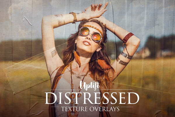 Distressed Texture Overlays