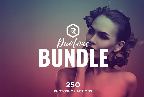 Duotone PSD Actions Super Bundle