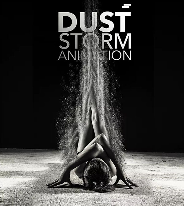 Dust Storm Animation Photoshop Action